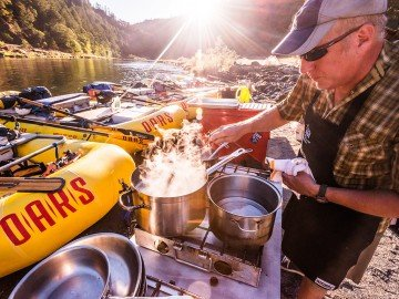 Meet Bob Anderson, one of the talented chefs behind OARS culinary trips | Photo: James Kaiser