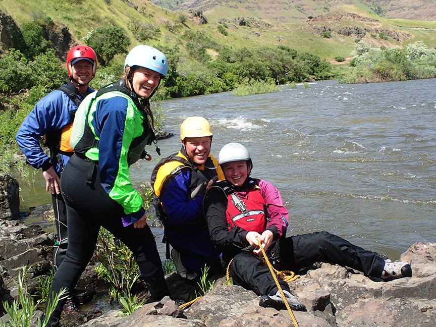 Whitewater Guide Training with OARS