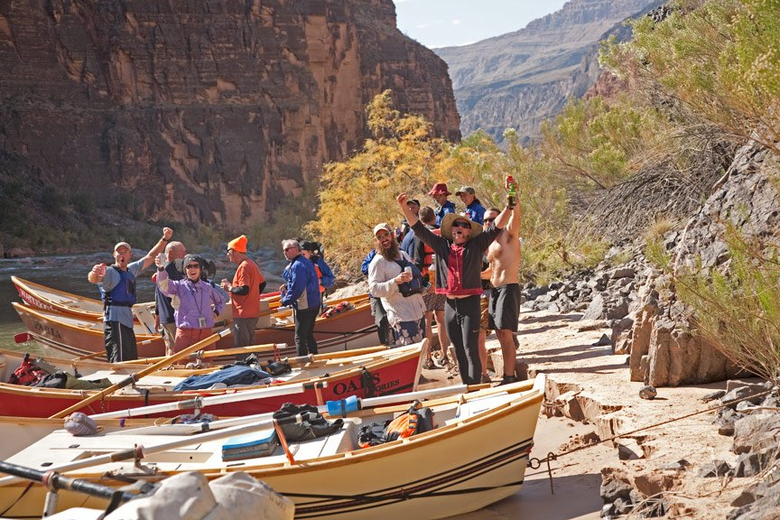 "Grand Canyon Rafting Trip Rituals - ""Tequila Beach"""