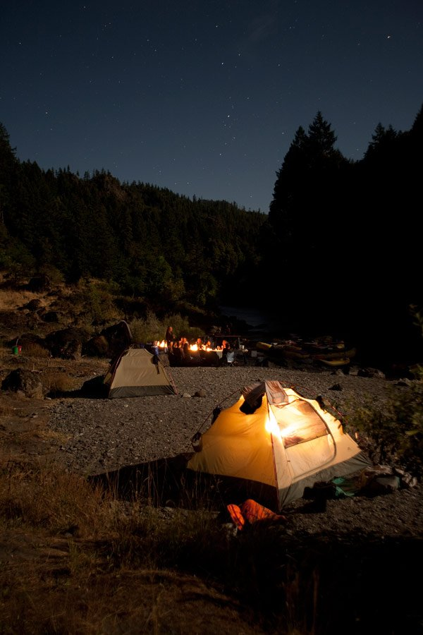 A Self-proclaimed City Girl Goes Camping for the First Time on the Rogue River