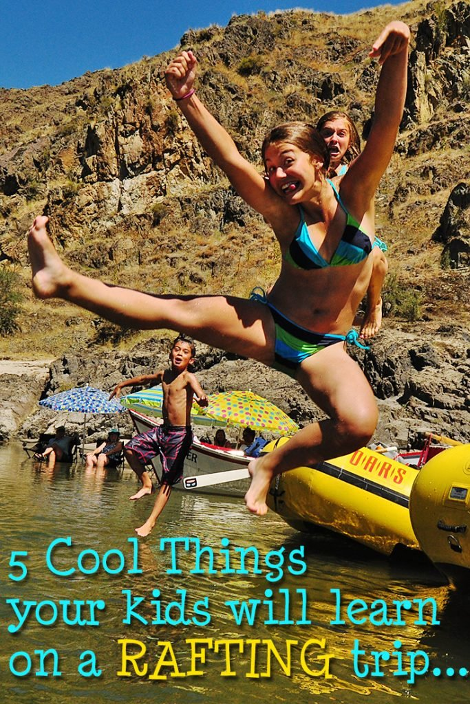 5 Cool Things Your Kids Will Learn on a Rafting Trip