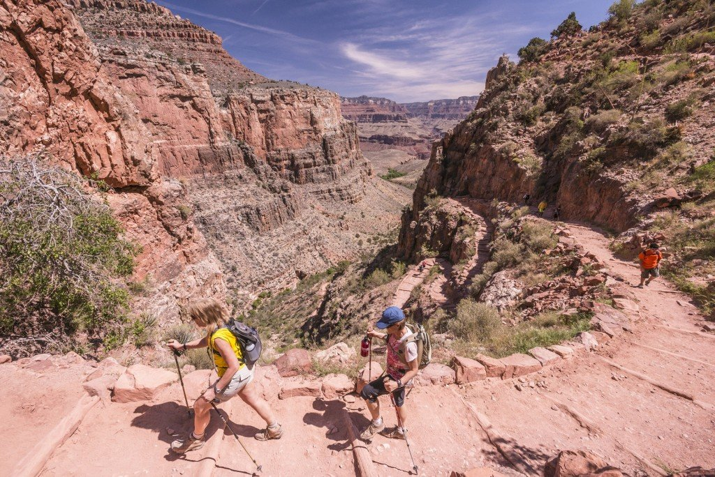 Grand Canyon Hiking, Bright Angel Trail