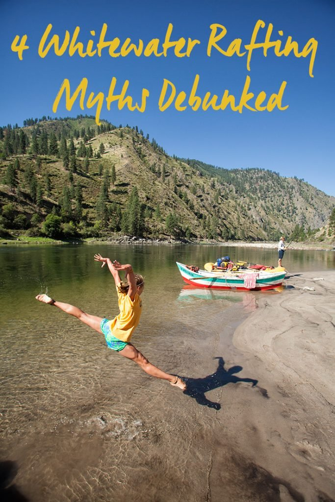 4 Myths About Whitewater Rafting Trips