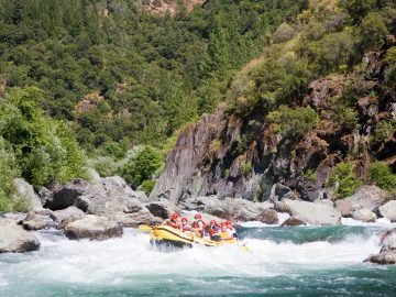 Middle Fork American River Rafting
