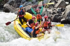 Troublemaker Rapid on the South Fork American River