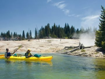 Yellowstone Lake Kayaking