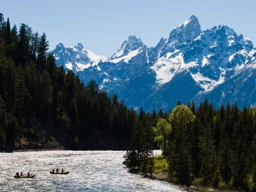 Snake River Rafting in Grand Teton National Park