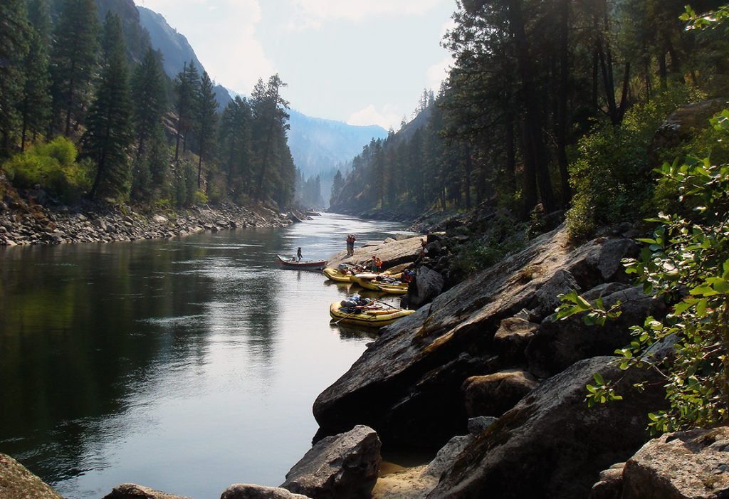 The Best Dam-Free Stretches of River in the West   Idaho's Salmon River   Photo: George Wendt