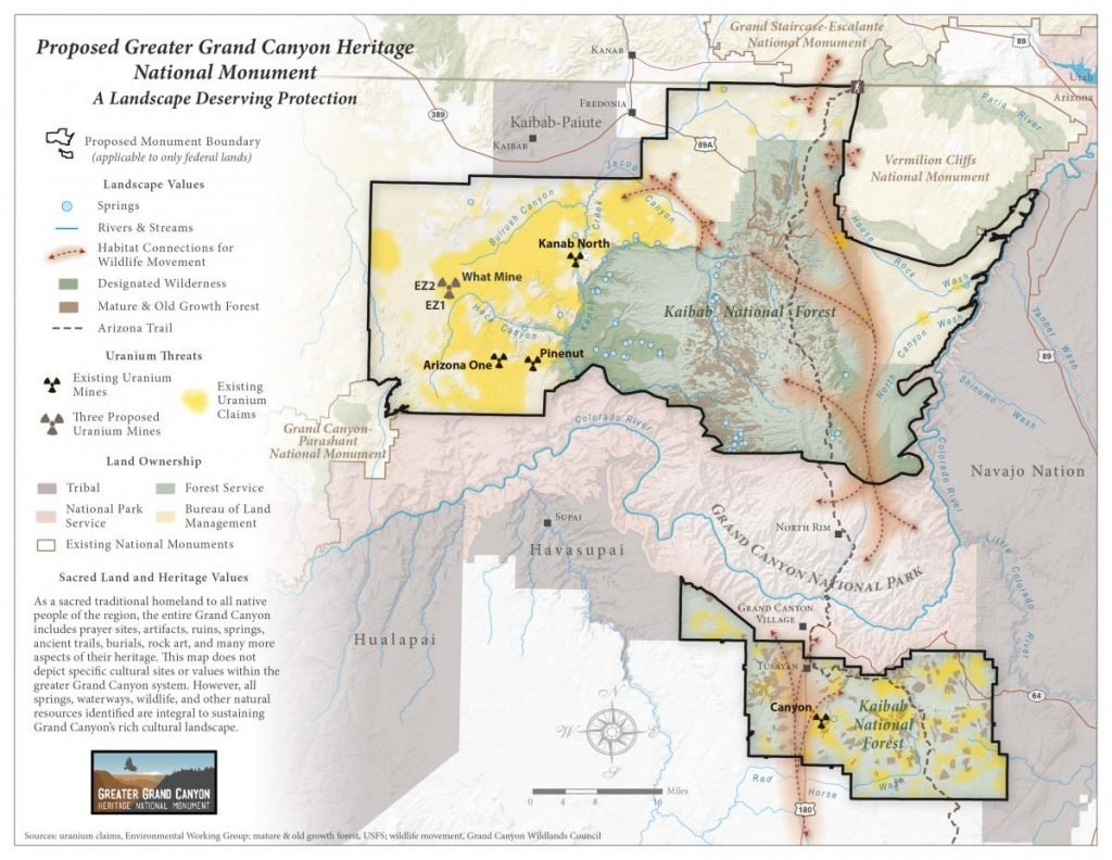 Greater Grand Canyon Heritage National Monument