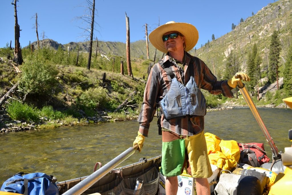 Meet Salmon River Sweep Boat Driver, Ned Perry
