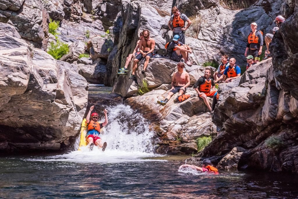Vegas Bachelor Party? No Thanks. Let's Go Rafting!