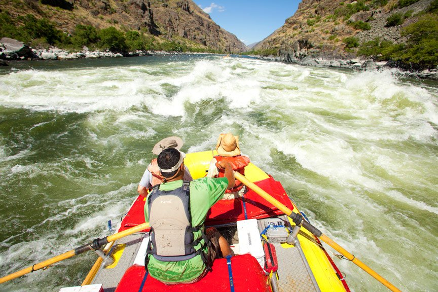Your Guide to Idaho Rafting | Snake River through Hells Canyon | Photo: Justin Bailie