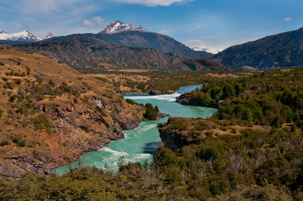 The Confluence of the Rio Baker and The Rio Neff | Patagonia, Chile | Photo: Q. Martin