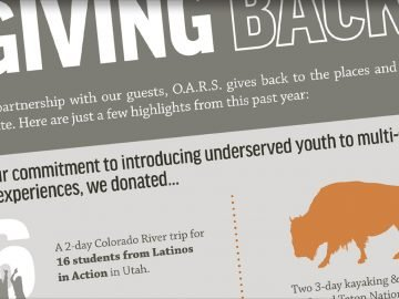 How OARS Gives Back