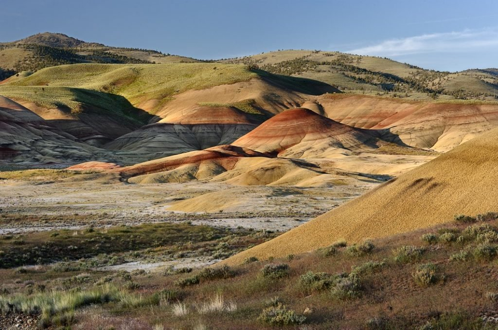 7 Cool Places to See the 2017 Total Solar Eclipse in the Wild   Painted Hills, Oregon