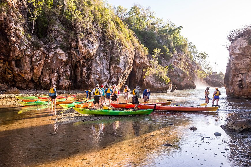 Cuba sea kayaking adventure | Photo: James Kaiser