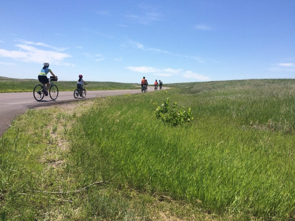 25 Unplugged Family Vacation Ideas | Bicycle Adventures South Dakota Family Trip