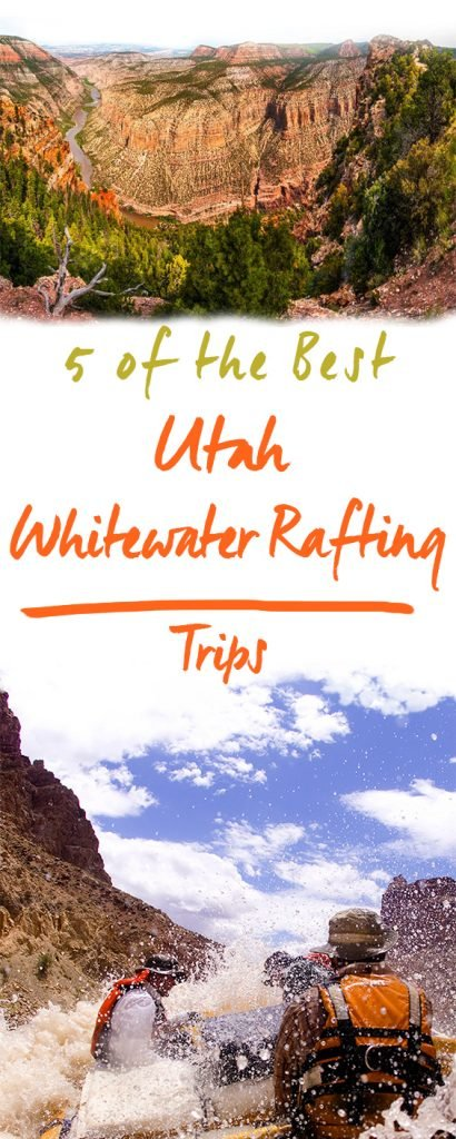 5 of the Best Whitewater Rafting Trips in Utah