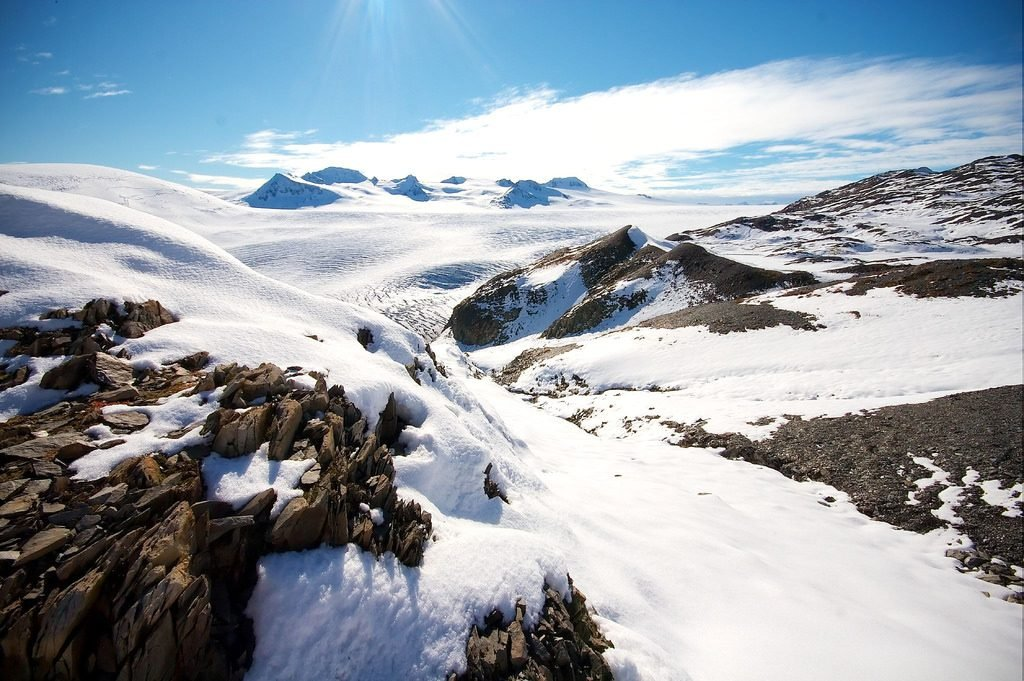 8 National Park Views That are Worth the Effort | Harding Ice Field, Kenai Fjords National Park