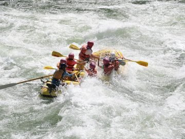 A river guide reconciles her fears about whitewater