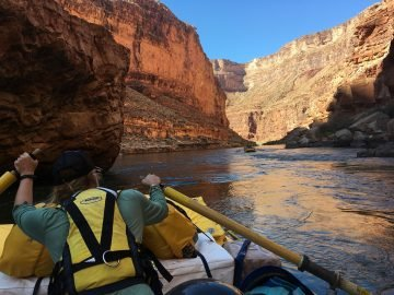 A river guide shares how she calmed her nerves and rediscovered her confidence on a Grand Canyon trip.