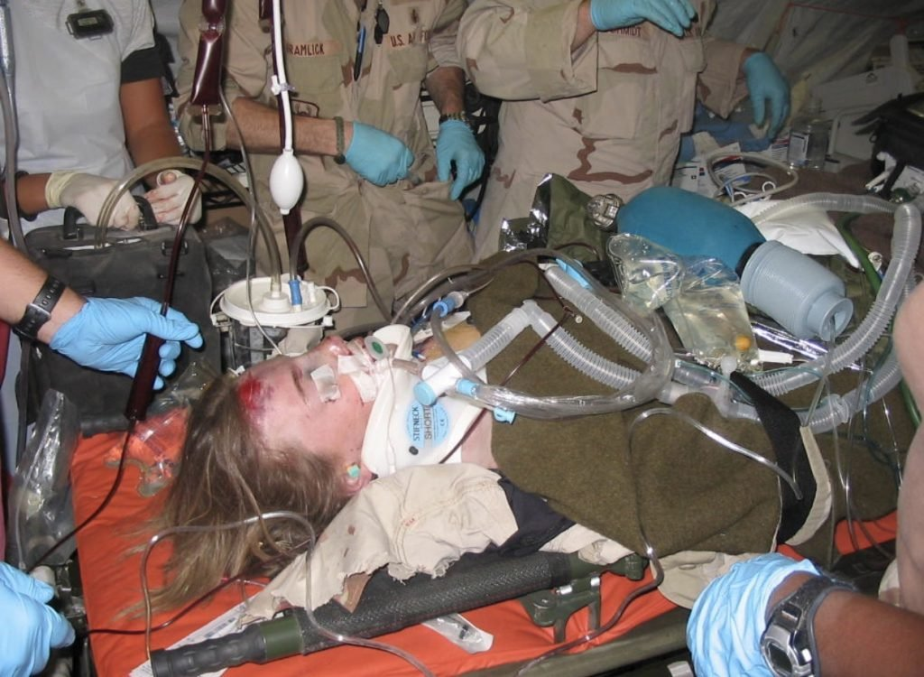 Female veteran injured in Afghanistan finds healing on a river trip