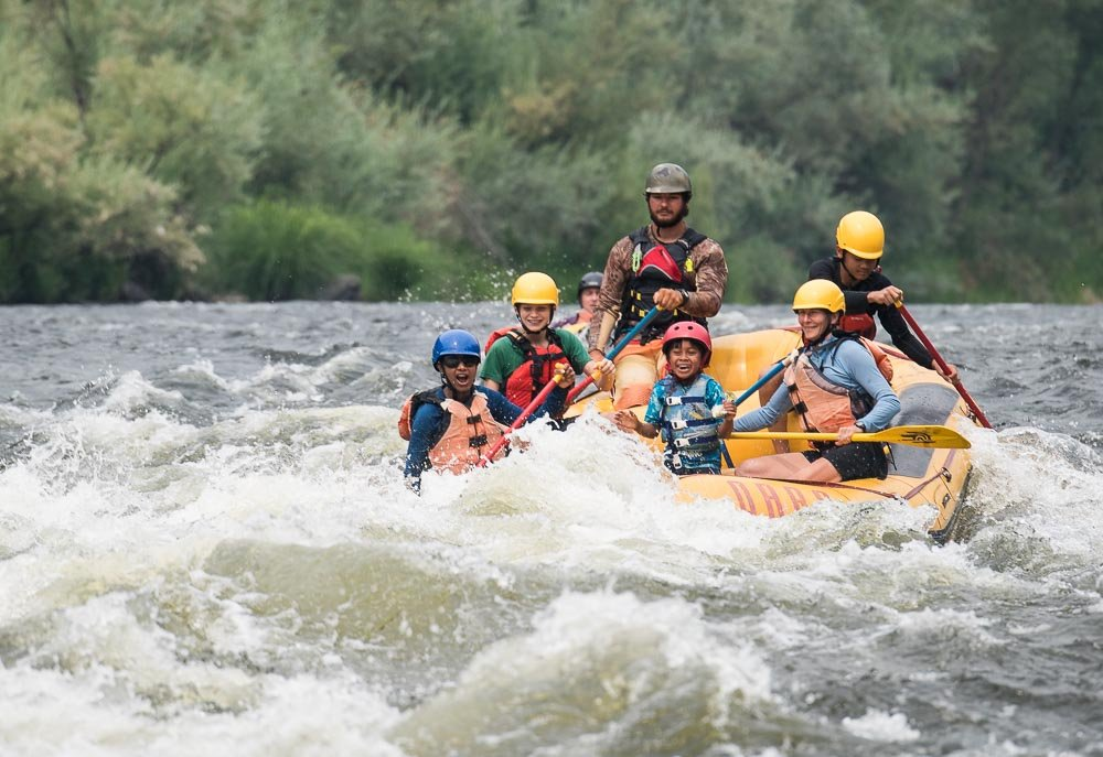 The Best Family Rafting Trips in the West