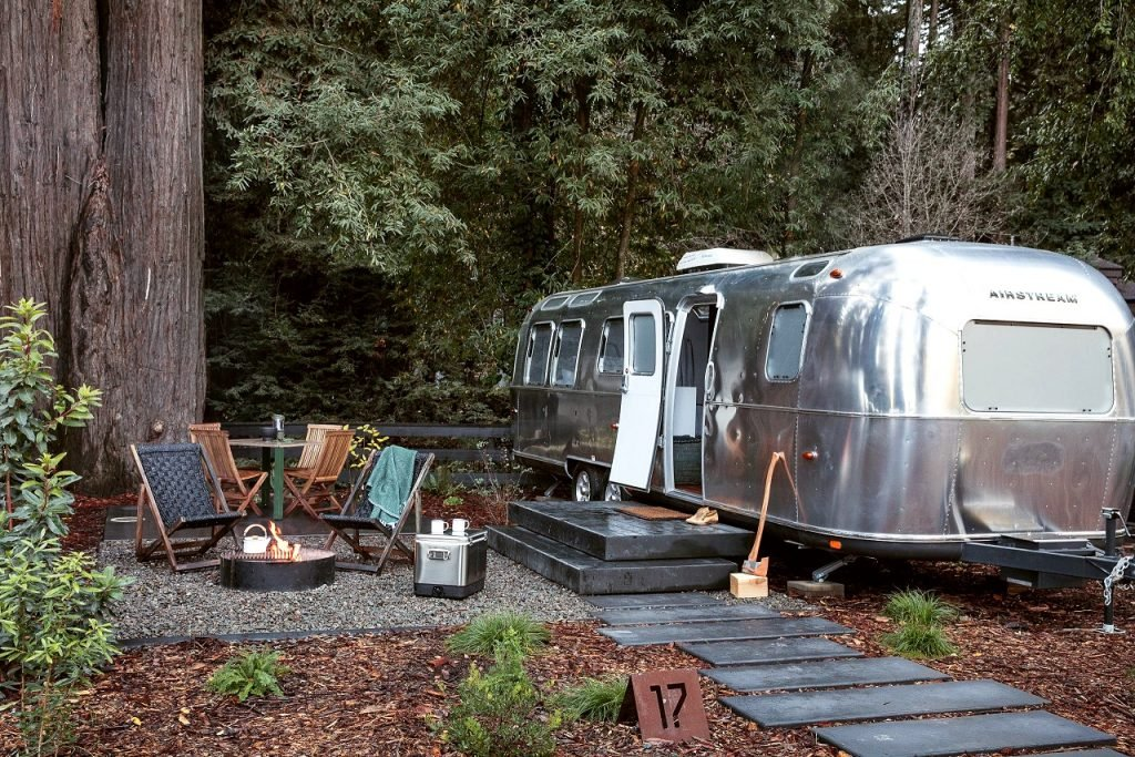 The Best Glamping in the West   AutoCamp - Russian River