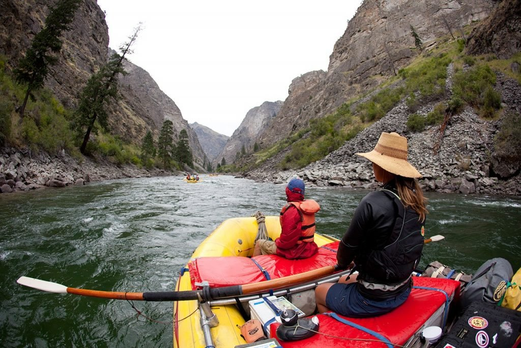 Impassable Canyon, Middle Fork of the Salmon River, Idaho | Photo: Justin Bailie