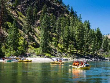 OARS Guide Kerry Athey Shares What Makes Idaho's Main Salmon River the Perfect Outdoor Adventure