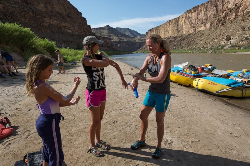 How to Avoid Sunburn on a River Trip