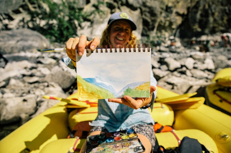5 Ways to Let Your Creativity Blossom on a River Trip