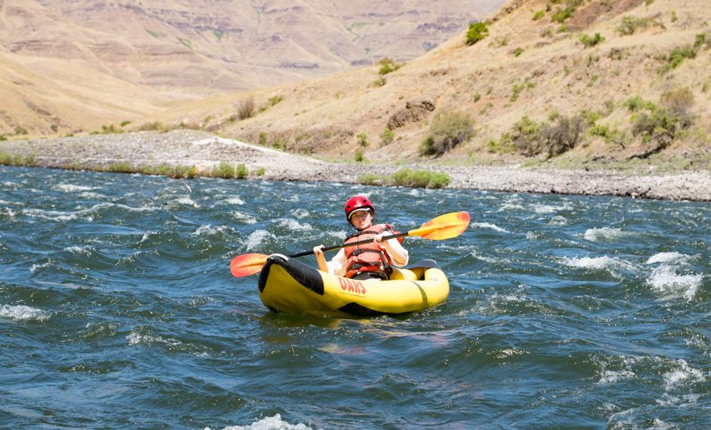 Braving the Rapids: A Lower Salmon River Trip With My Daughter