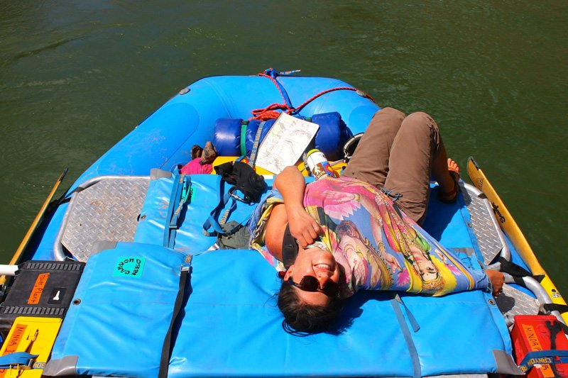 11 Super Practical Uses for a Sarong on a Rafting Trip