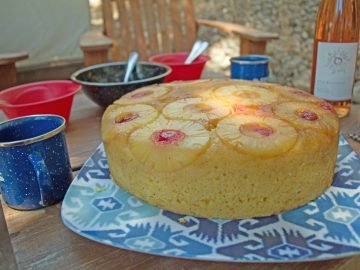 Dutch Oven Dessert: Pineapple Upside-Down Cake