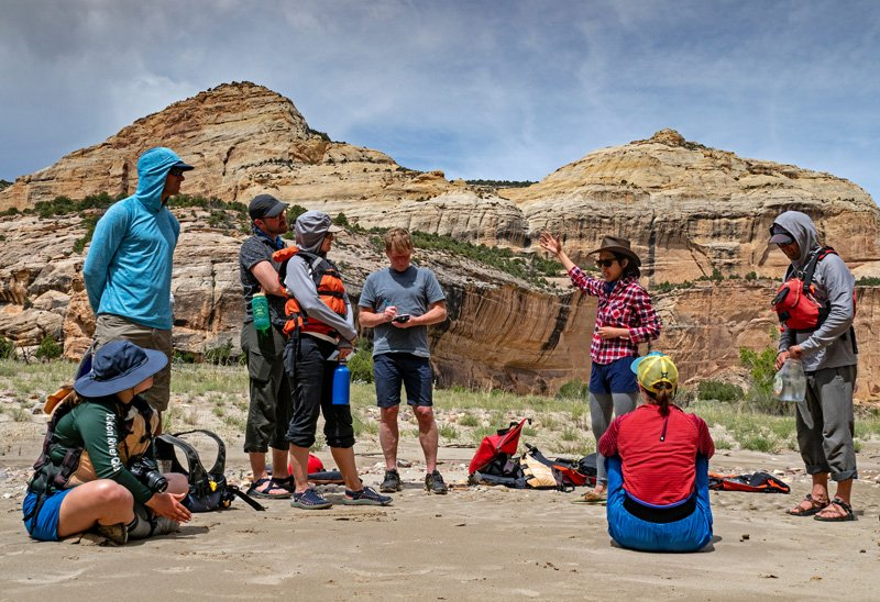 May 2019 Yampa River Awareness Project sponsored by Friends of the Yampa, American Rivers, and OARS