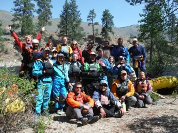 OARS Idaho Rafting Guide Training