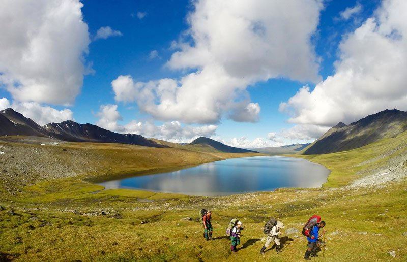 Backpacking in Alaska with NOLS