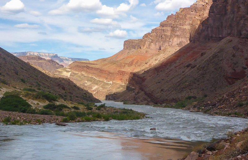 Hance Rapid in Grand Canyon