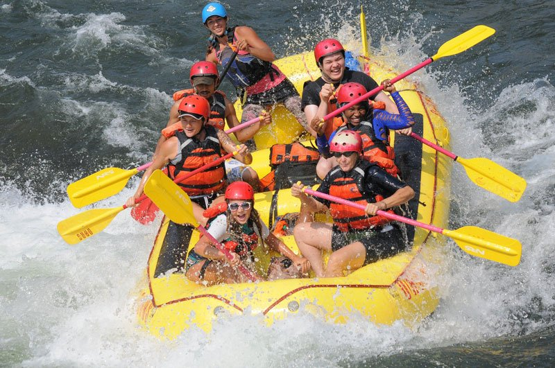 Pam & George Wendt Foundation Rafting Trips for Youth