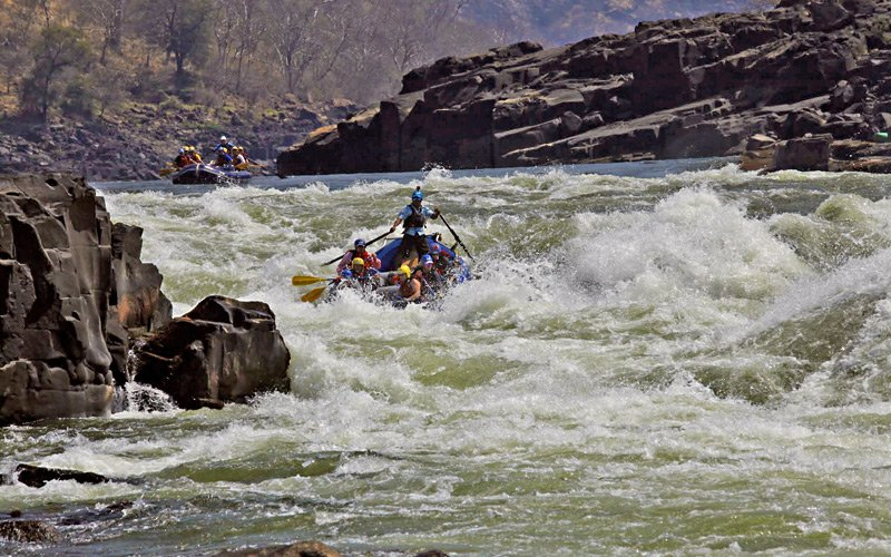 Famous Whitewater Rapids: Ghost Rider Rapids: Ghost Rider on the Zambezi