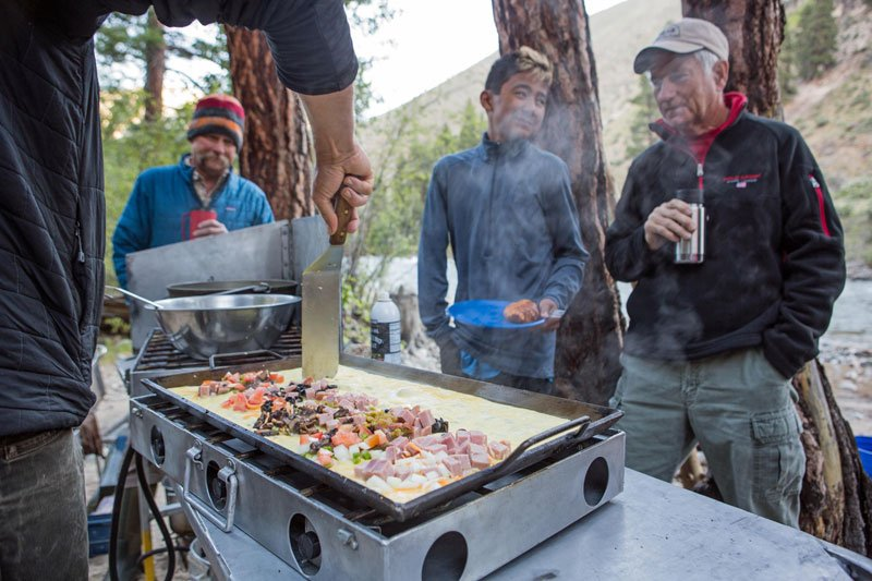Multi-day river trips: Comfortable camping does exist